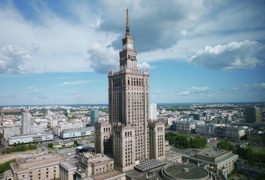 Великая страна СССР,Дворец культуры и науки имени И.В. Сталина