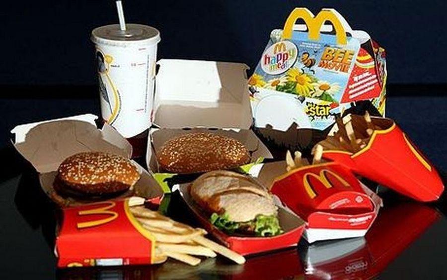 из чего еда в макдональдсе фото удобного поиска подходящего