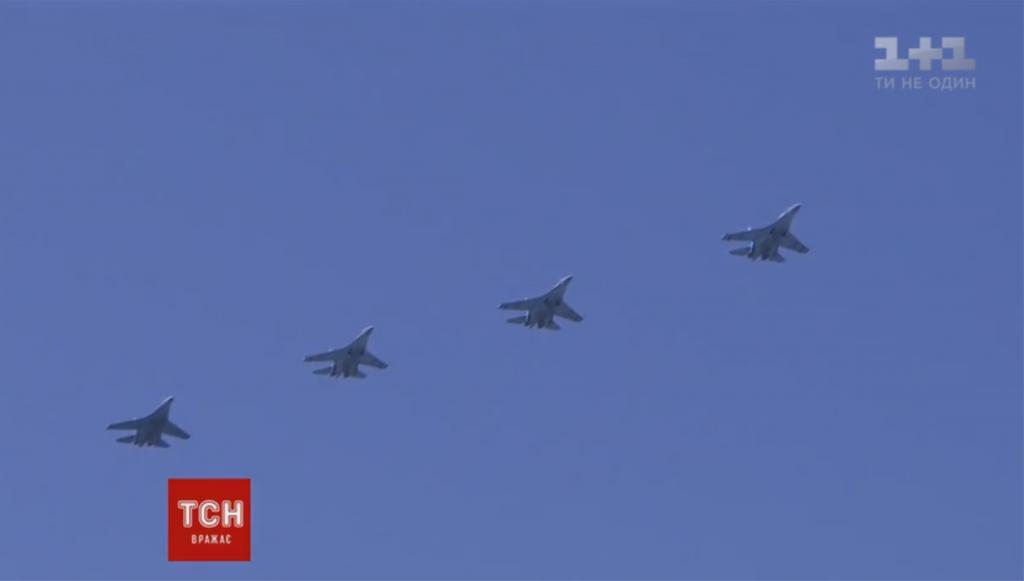 Во время парада в Киеве были показаны модернизированные самолеты и комплексы Javelin, фото-2