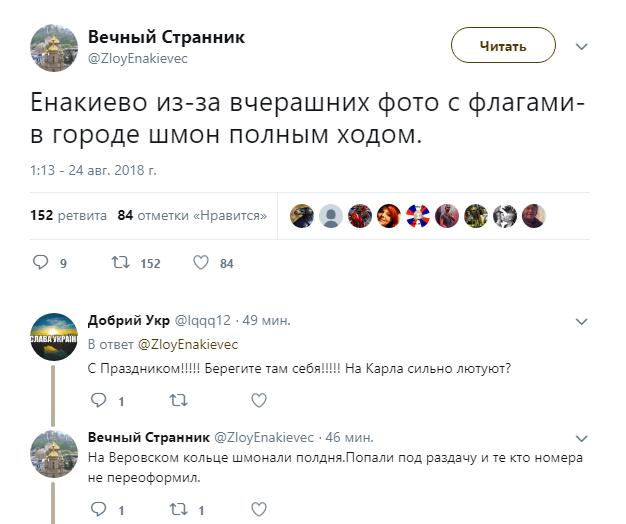 В оккупированном Енакиево ищут украинских «шпионов», фото-2