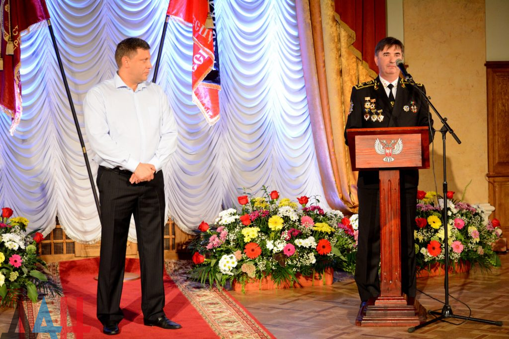 Захарченко с каской, шествие и концерт: оккупированный Донецк отмечает День шахтера, фото-5