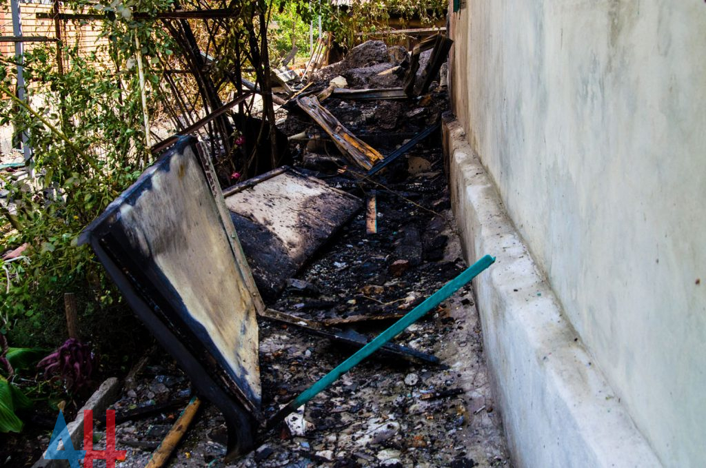 В сеть выложили фото последствий утреннего взрыва в Донецке, фото-3
