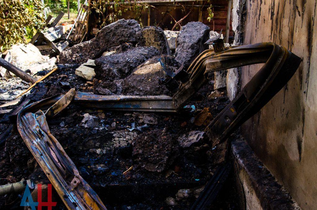 В сеть выложили фото последствий утреннего взрыва в Донецке, фото-2