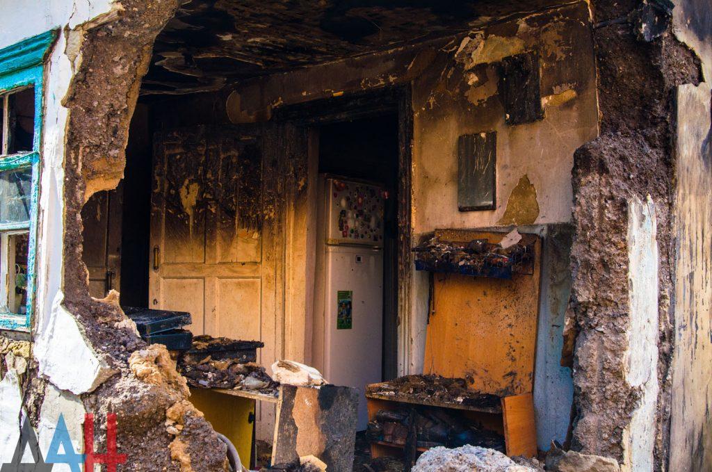 В сеть выложили фото последствий утреннего взрыва в Донецке, фото-5