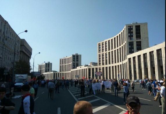 «Путина в отставку»: в РФ протесты против пенсионной реформы, фото-3
