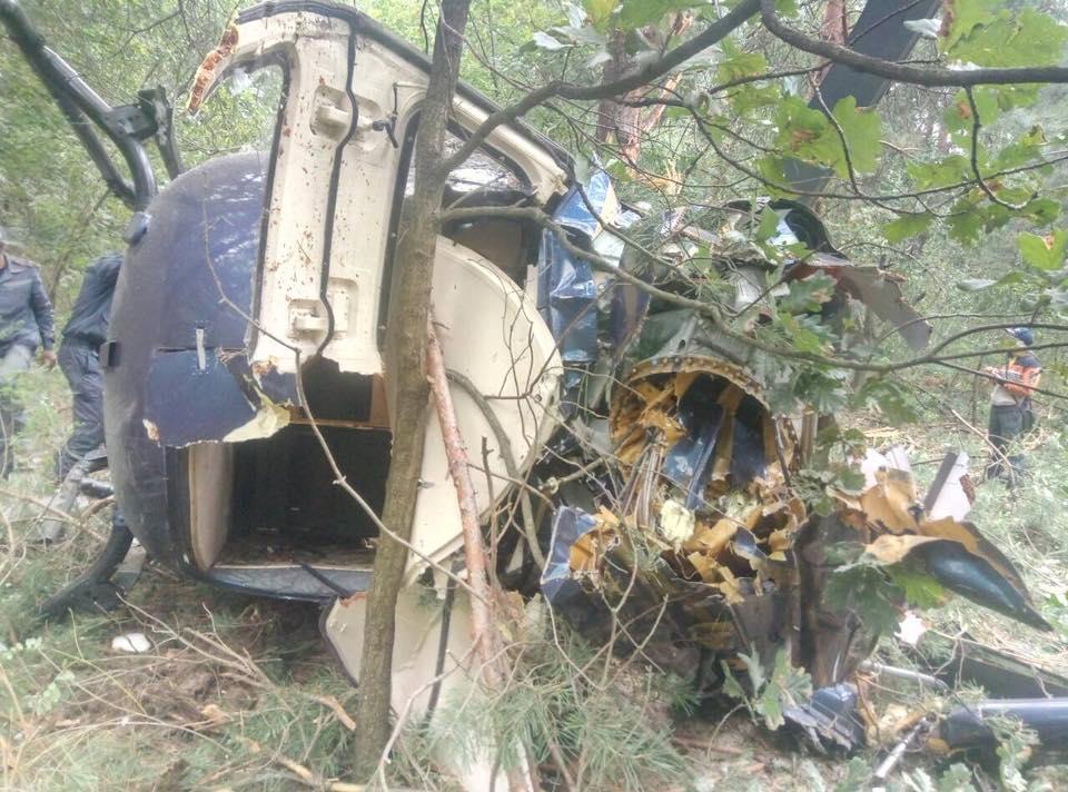 В Киеве разбился вертолет: есть пострадавшие, фото-3
