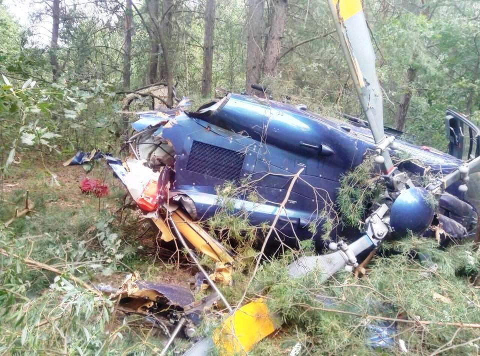 В Киеве разбился вертолет: есть пострадавшие, фото-2