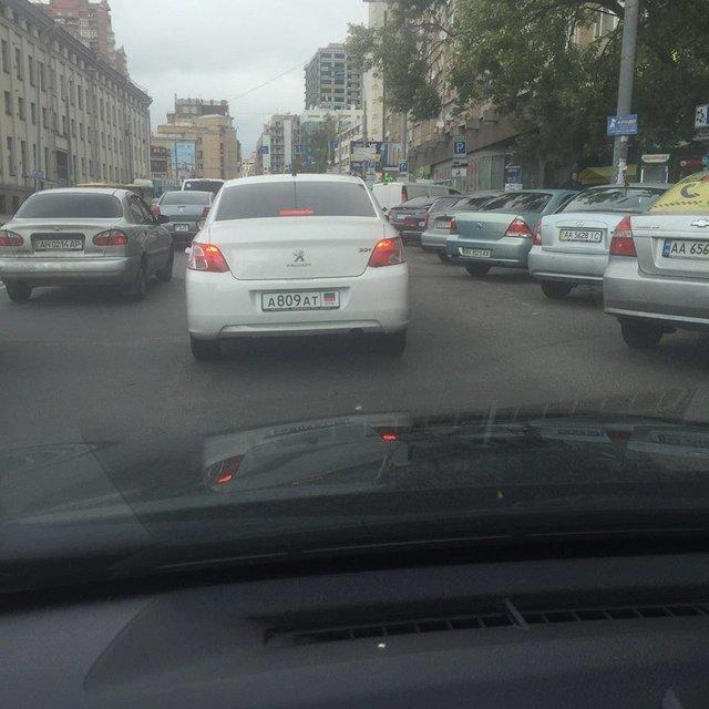 В Киеве появилось авто с номерами «ДНР», фото-2