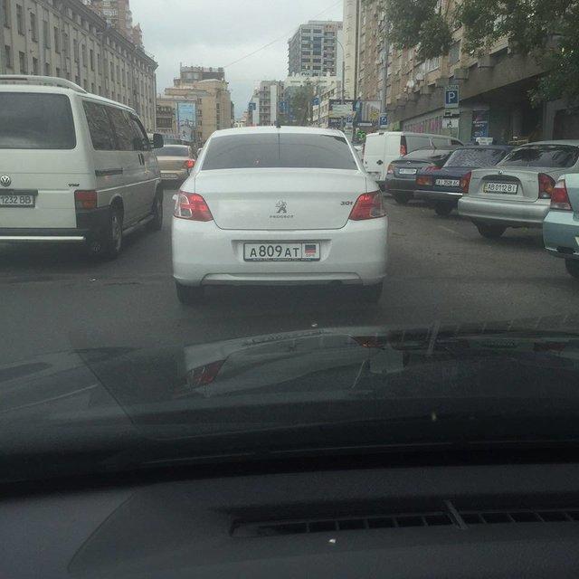 В Киеве появилось авто с номерами «ДНР», фото-3
