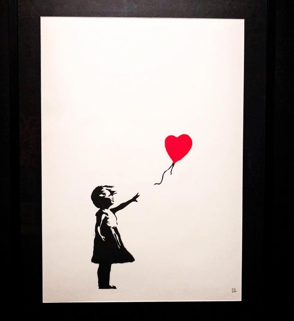 «Искусство» Бэнкси: картина художника самоликвидировалась после продажи на аукционе, фото-2