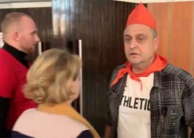 Нардеп вызвал полицию за пионерские галстуки на дискотеке, фото-4
