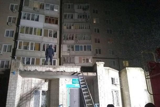 В Днепре вор упал с пятого этажа пытаясь сбежать от полиции, фото-2