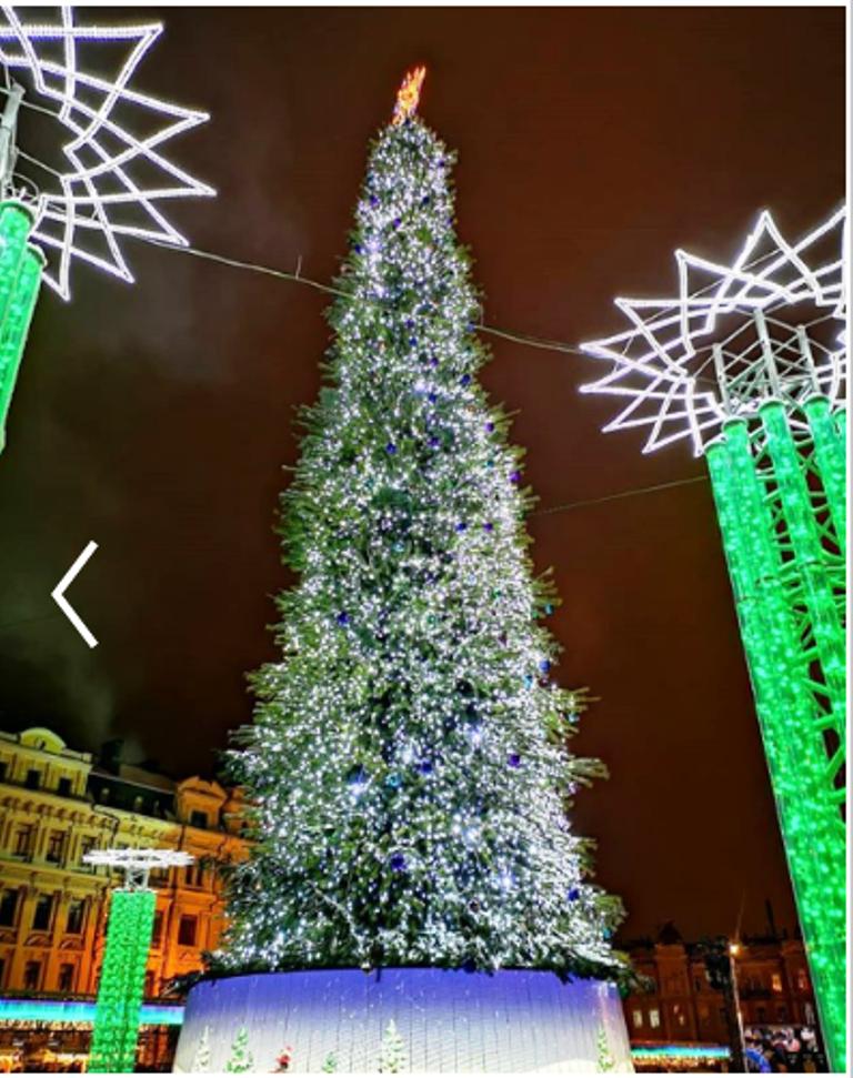 В Киеве зажглась главная елка страны: появилось яркое видео, фото-2