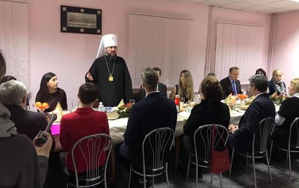 Глава ПЦУ Епифаний встретился с семьями украинских политзаключенных в России, фото-4