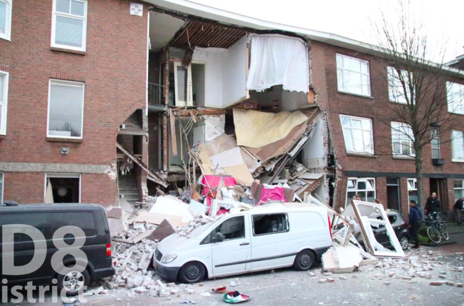 В Гааге прогремел взрыв, обрушились фасады нескольких домов, фото-4