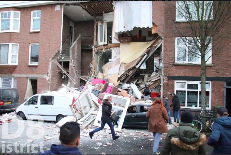 В Гааге прогремел взрыв, обрушились фасады нескольких домов, фото-5