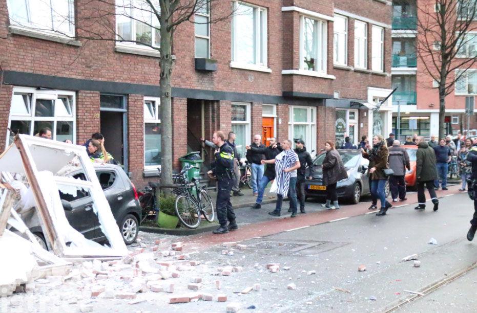 В Гааге прогремел взрыв, обрушились фасады нескольких домов, фото-6