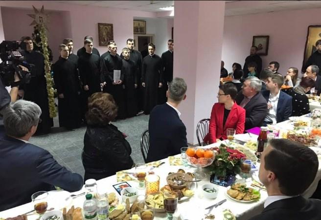 Глава ПЦУ Епифаний встретился с семьями украинских политзаключенных в России, фото-6