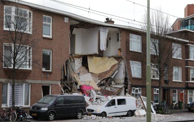 В Гааге прогремел взрыв, обрушились фасады нескольких домов, фото-3