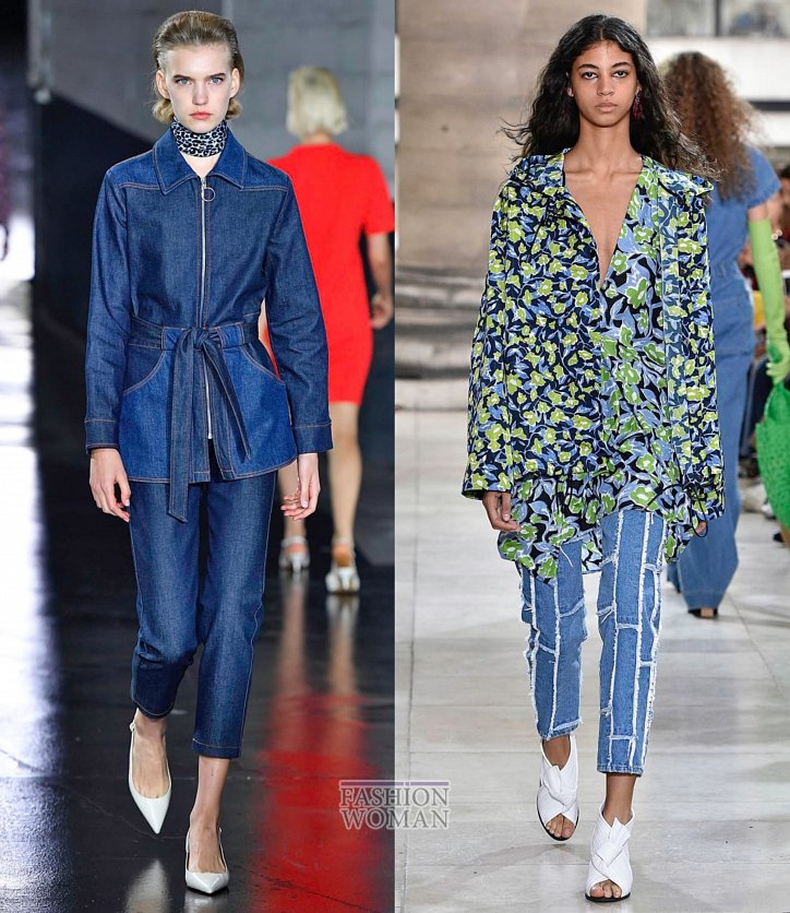 a3d1acf3044 Модные джинсы этой весной и летом