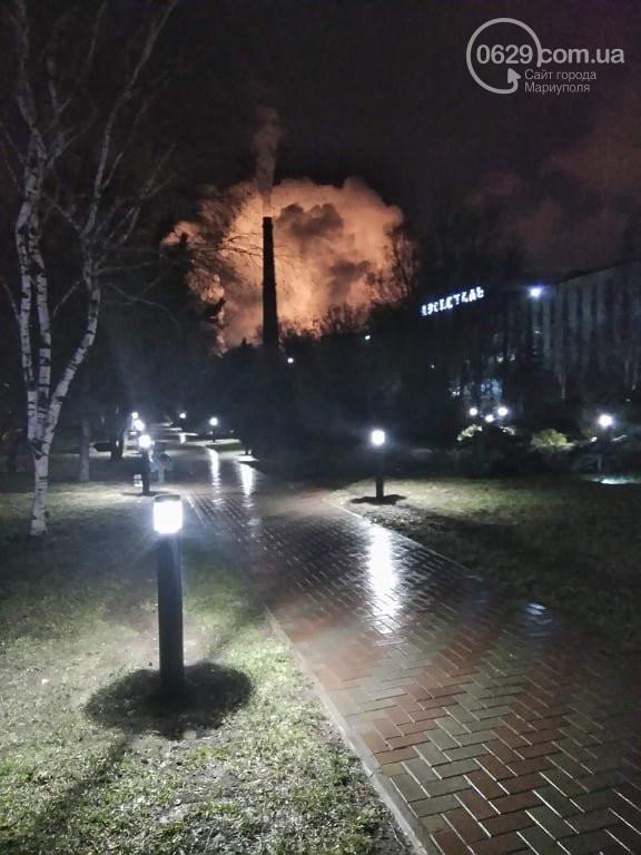 Крупный пожар в Мариуполе: горит завод «Азовсталь», фото-5