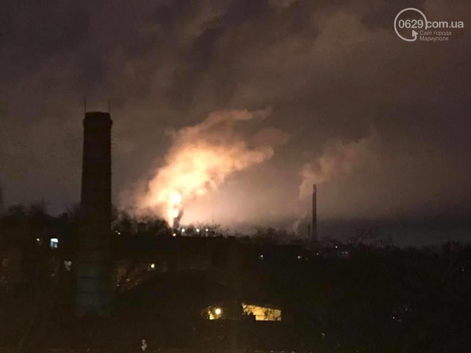 Крупный пожар в Мариуполе: горит завод «Азовсталь», фото-7