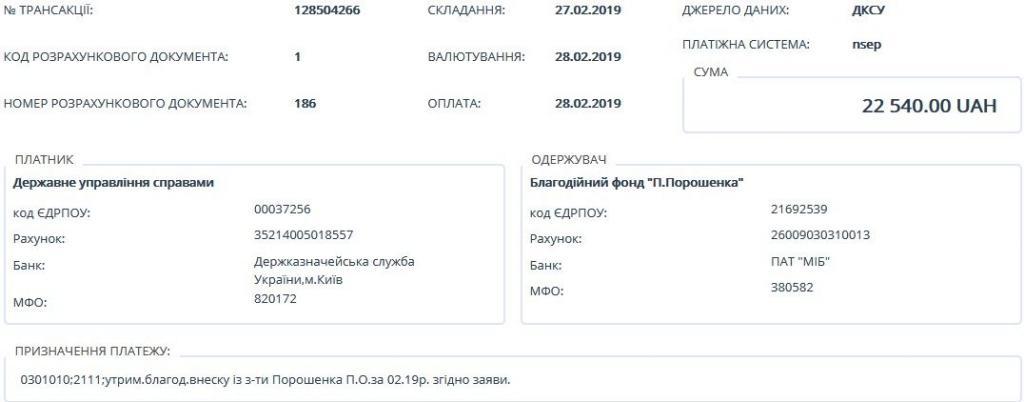 Обнародована зарплата главы государства Петра Порошенко, фото-3