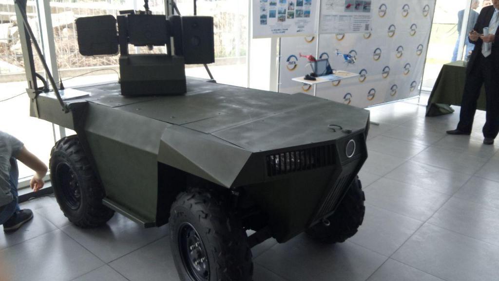 В Украине создали нового боевого робота «Ласка 2.0», фото-2