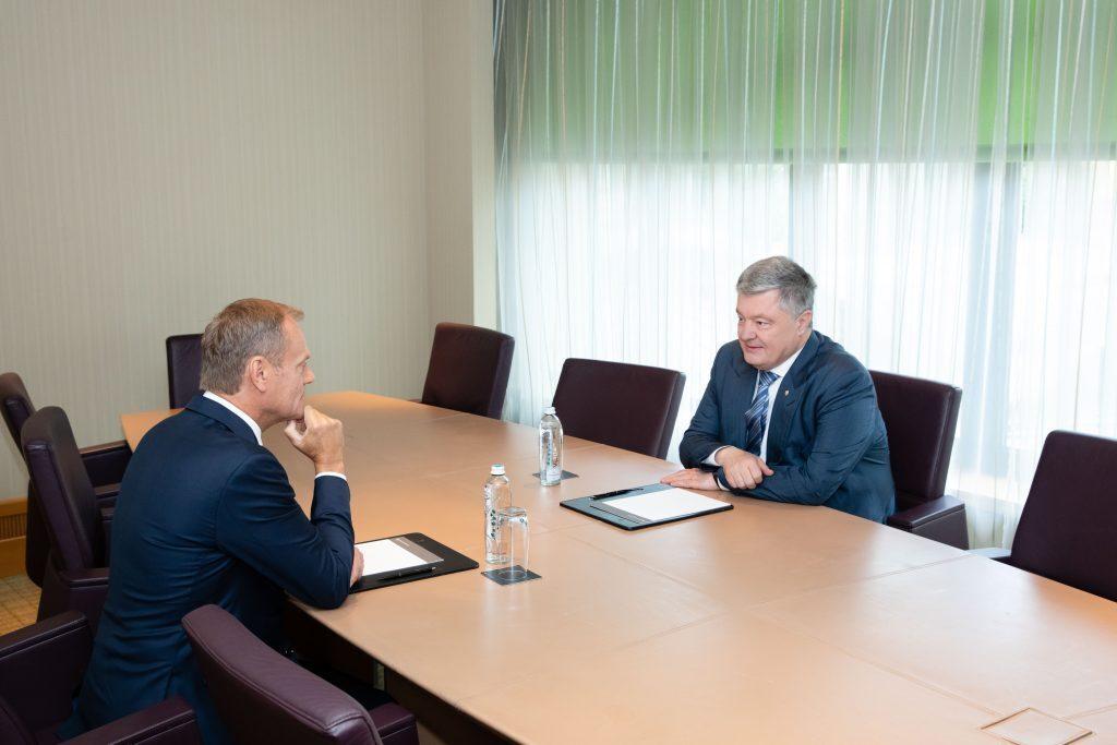 Порошенко встретился с Туском и сделал заявление, фото-2