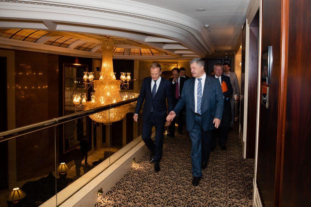 Порошенко встретился с Туском и сделал заявление, фото-3