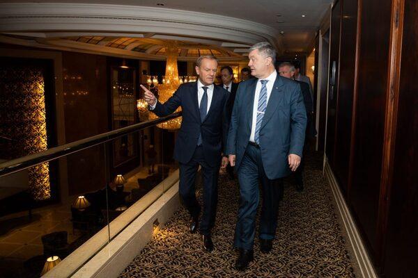 Порошенко встретился с Туском и сделал заявление, фото-4
