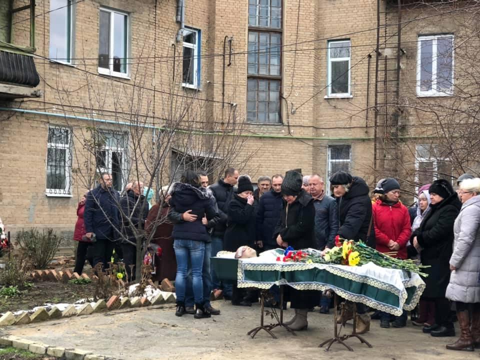 На Донетчине простились с погибшим волонтером Артемом Мирошниченко, фото-3