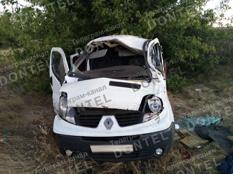 Автобус, перевозивший жителей ОРДО через РФ в Украину попал в смертельное ДТП в Воронежской области